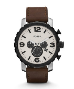 Fossil Nate Chronograph Leather
