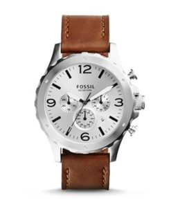 Fossil Nate Chronograph Leather JR1473